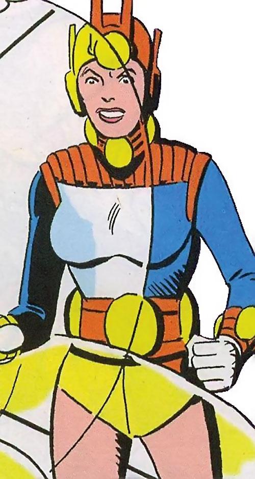 Mellu Loron (Shade the Changing Man) (DC Comics Ditko) using force shields