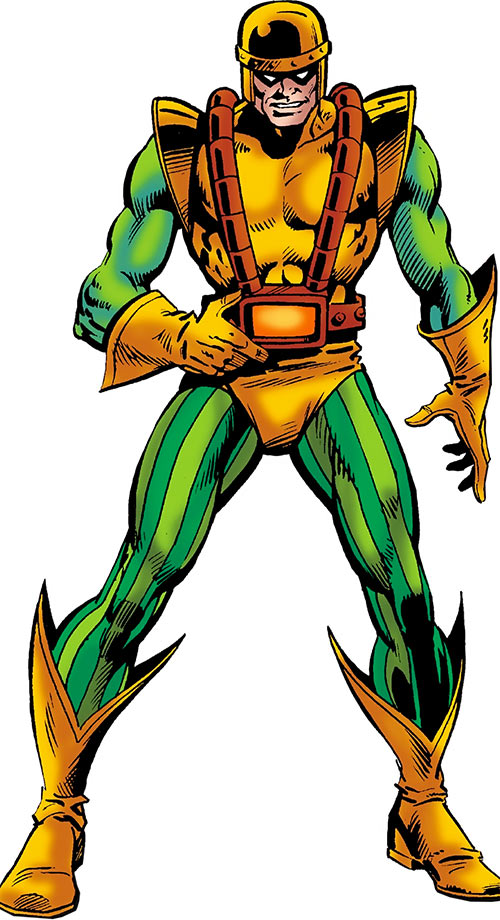 Melter (Marvel Comics) (Bruno Horgan) (1976 costume)