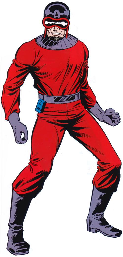 Mentallo (Marvel Comics) from the older handbook