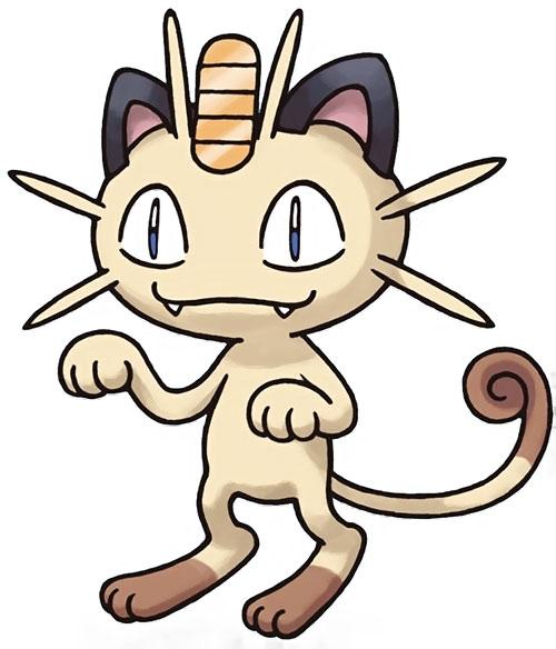 Meowth pokemon