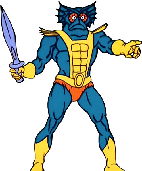 Mer-Man - He Man Masters Universe cartoon