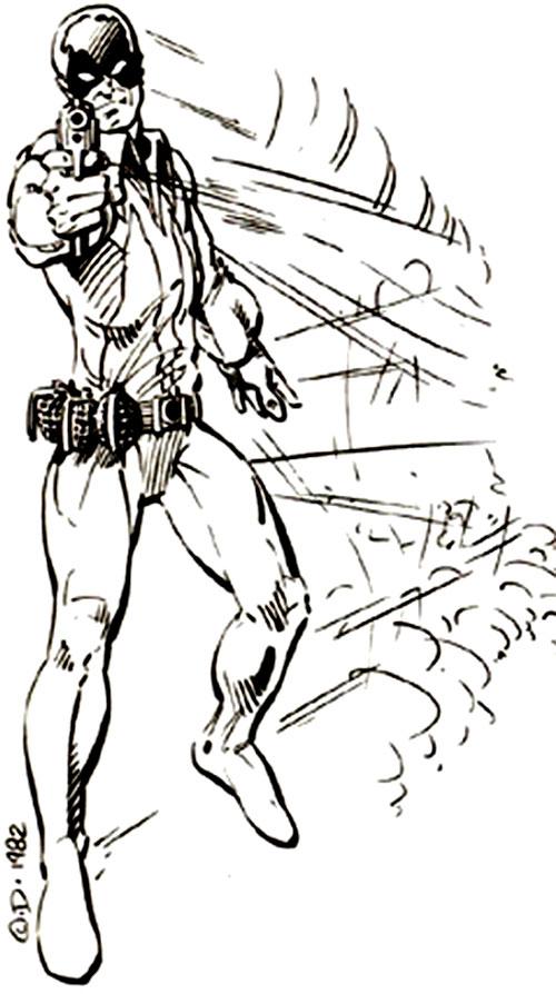 Mercury Mercenary (Villains & Vigilantes RPG)