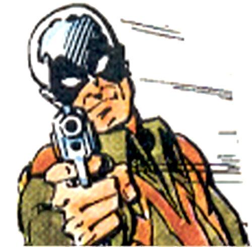 Mercury Mercenary (Villains & Vigilantes RPG) color face