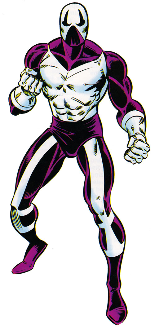 Meteor Man (aka the Looter) (Spider-Man enemy)