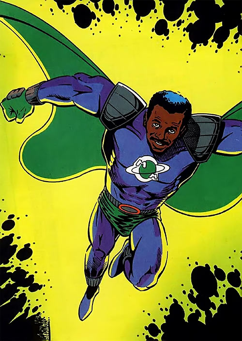 Meteor Man (Robert Townsend) comic book adaptation