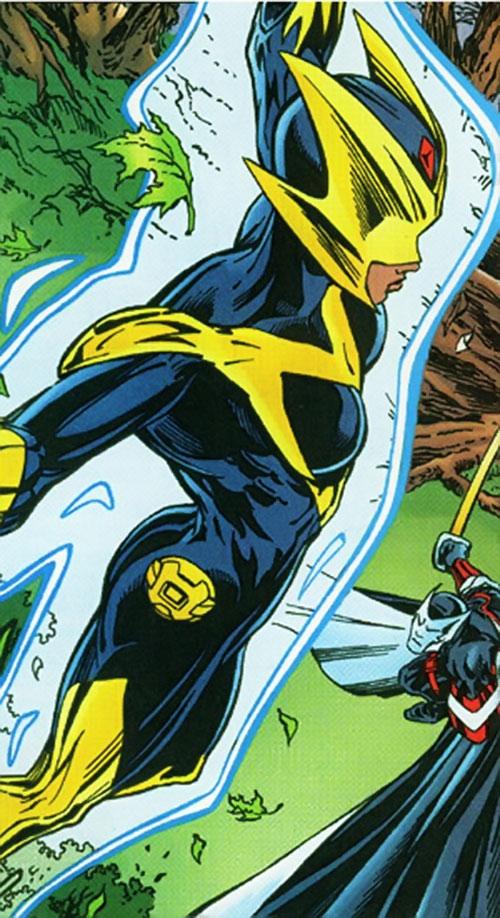 Meteorite of the Redeemers (Barnhardt) (Marvel Comics) vs. Citizen V