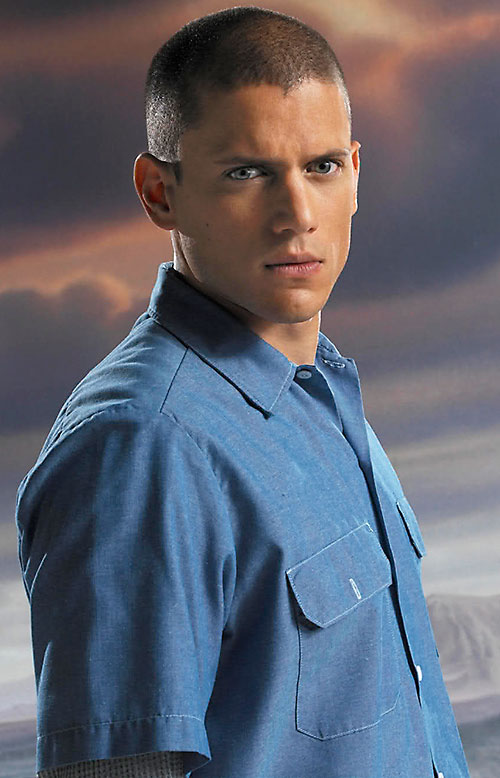 Michael Scofield (Wentworth Miller in Prison Break)