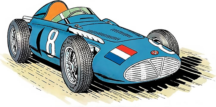 Michel Vaillant (BD Comics) (Early) Vaillante Formula One