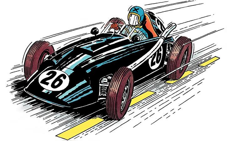 Michel Vaillant (BD Comics) (Early) Driver X