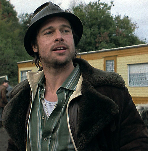 Mickey O'Neil (Brad Pitt in Snatch)