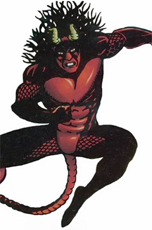Midnight Devil (Strikeback comics)