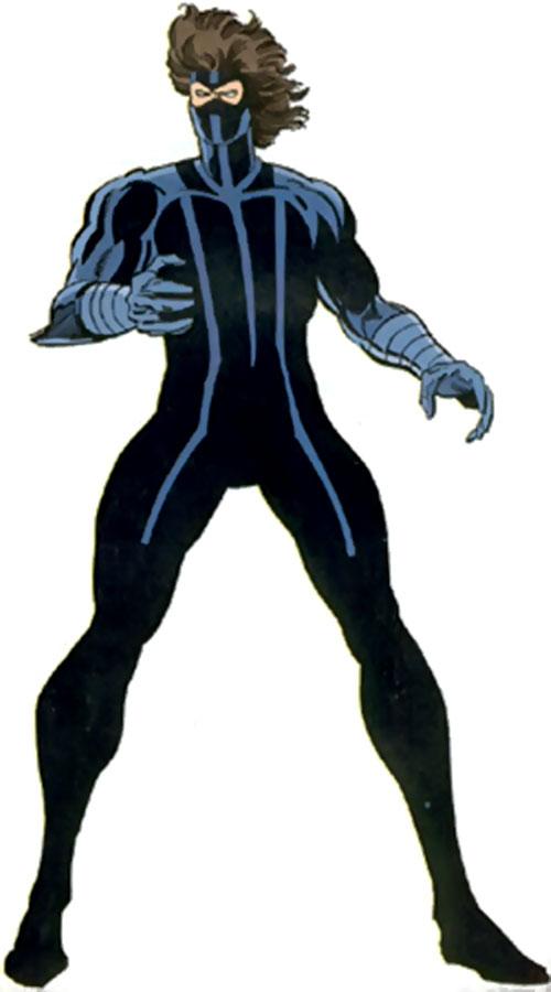 Midnight (Jeff Wilde) (Moon Knight ally) (Marvel Comics) as a cyborg