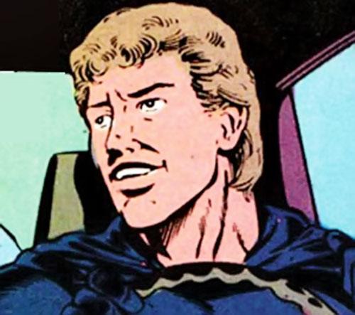 Midnight (Jeff Wilde) (Moon Knight ally) (Marvel Comics) face closeup