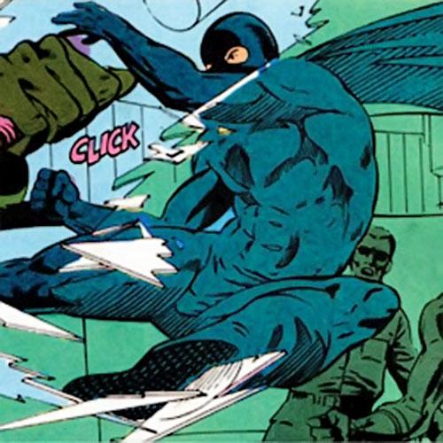 Midnight (Jeff Wilde) (Moon Knight ally) (Marvel Comics) early costume