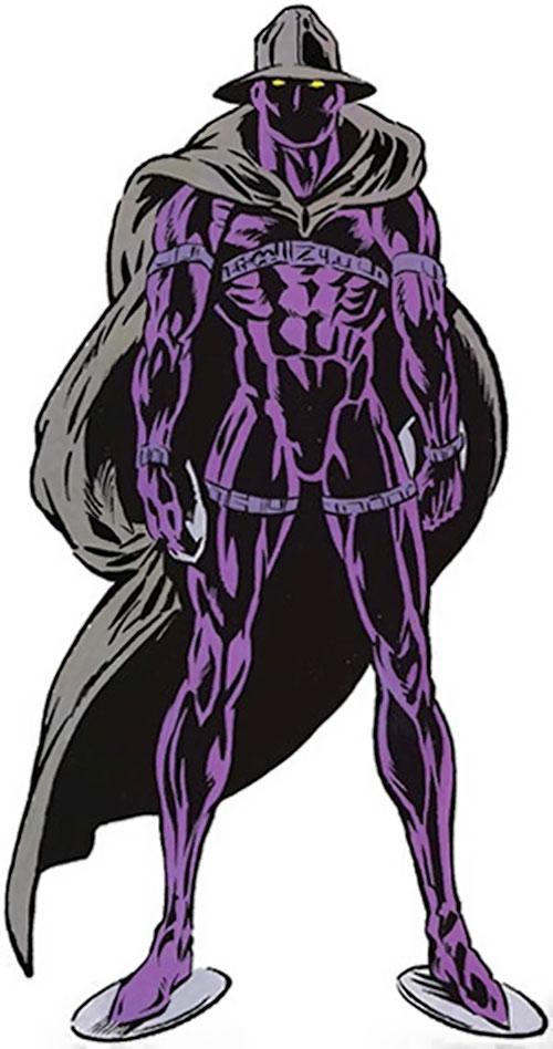 Midnight Sun from the TSR Marvel handbook