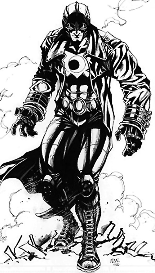 Midnighter of the Authority (Wildstorm Comics) B&W art