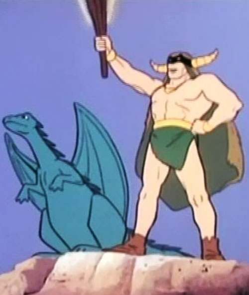 Mighty Mightor (Hanna Barbera cartoon) and Tog