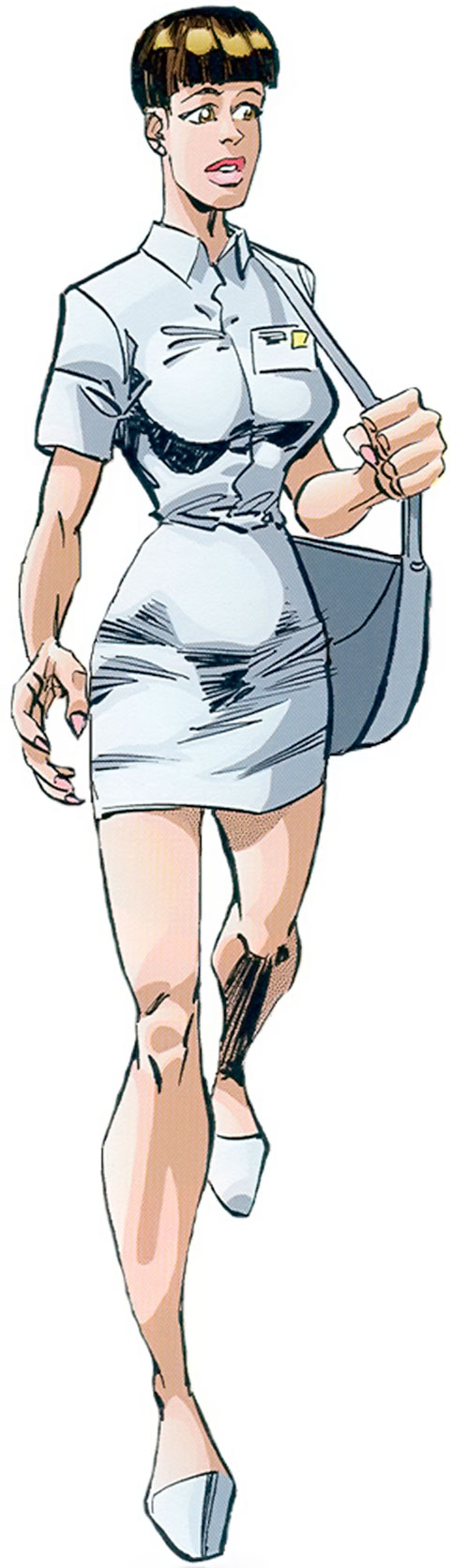 Ann Stevens (Savage Dragon comics) in her nurse uniform