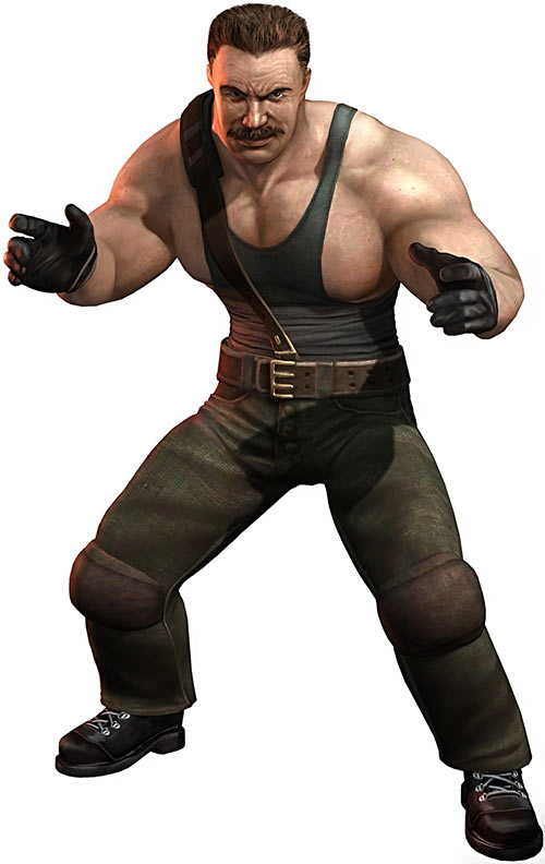 Mike Haggar (Final Fight and Street Fighter games) later appearance