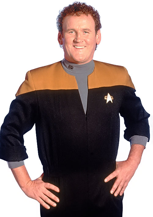 Miles O'Brien (Colm Meaney in Star Trek)