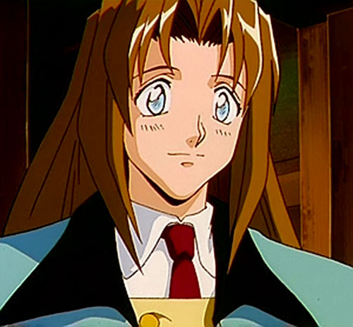 Milly Thompson (Trigun) looking happy
