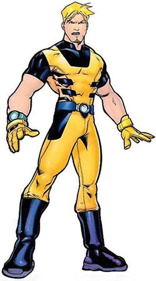 Mimic of the Exiles (Marvel Comics) standing tough