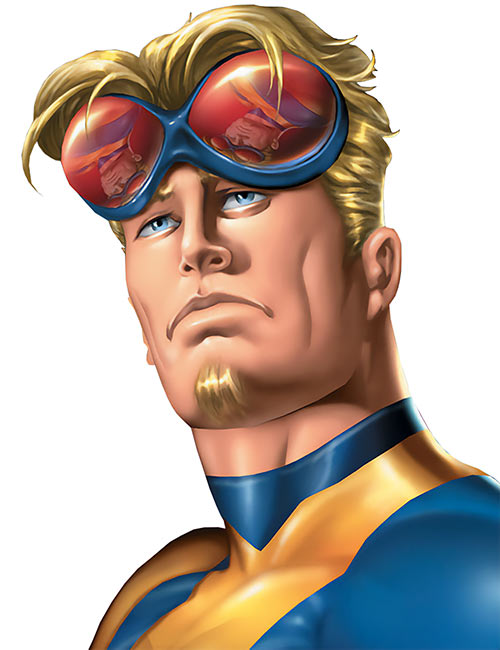 Mimic of the Exiles (Marvel Comics) with his goggles