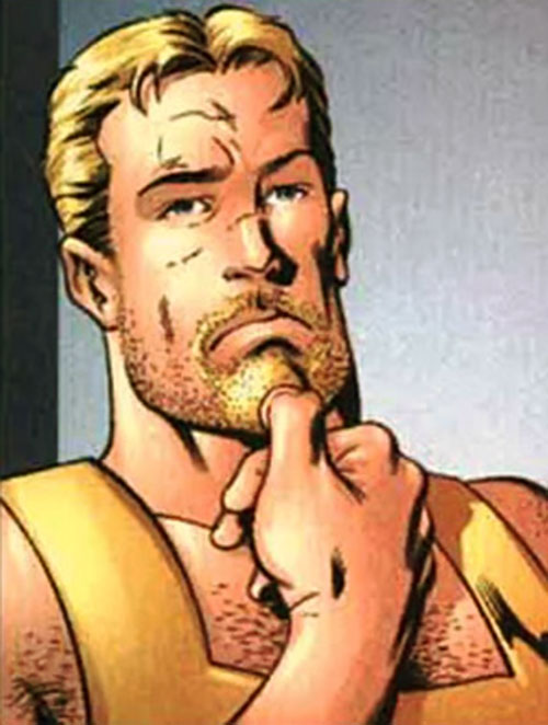 Mimic of the Exiles (Marvel Comics) with a beard