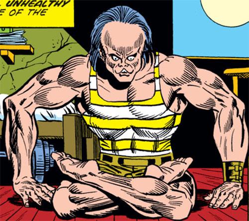 Mindworm (Spider-Man character) meditating