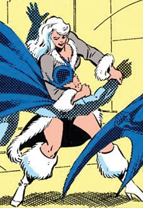 Mink (Marvel Comics) (Squadron Supreme) vs. Nighthawk