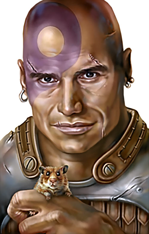 Minsc (Baldur's Gate) (Dungeons and Dragons) portrait