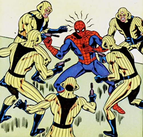 Mirage (Marvel Comics) vs. Spider-Man