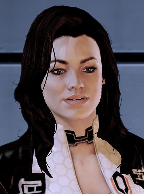 Miranda Lawson (Mass Effect) being convincing