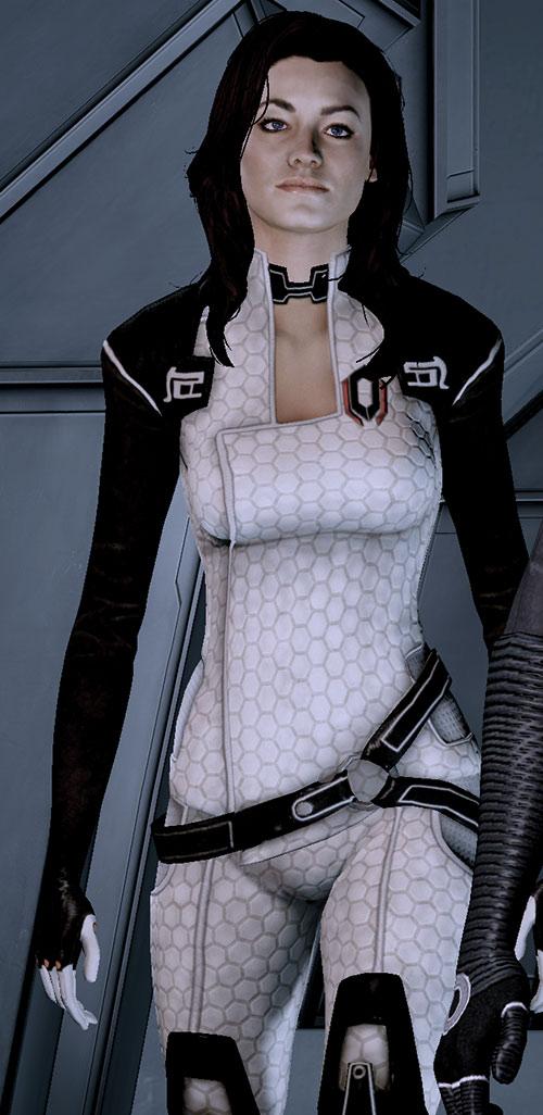 Miranda Lawson (Mass Effect) walking