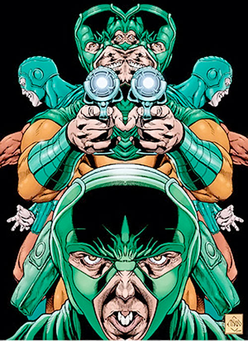 Mirror Master (Flash rogue) (DC Comics) warped reflections