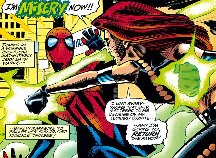 Misery vs. Spider-Girl