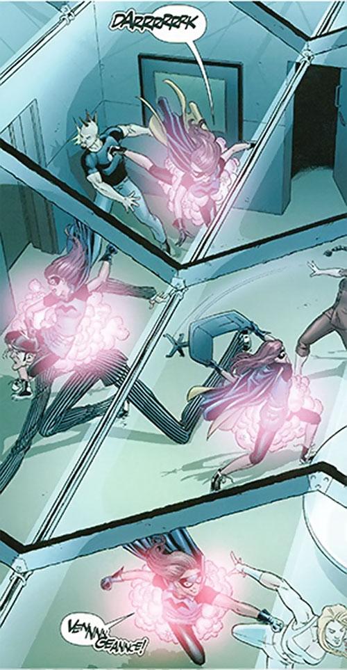 Misfit of the Birds of Prey (DC Comics) burst teleportation