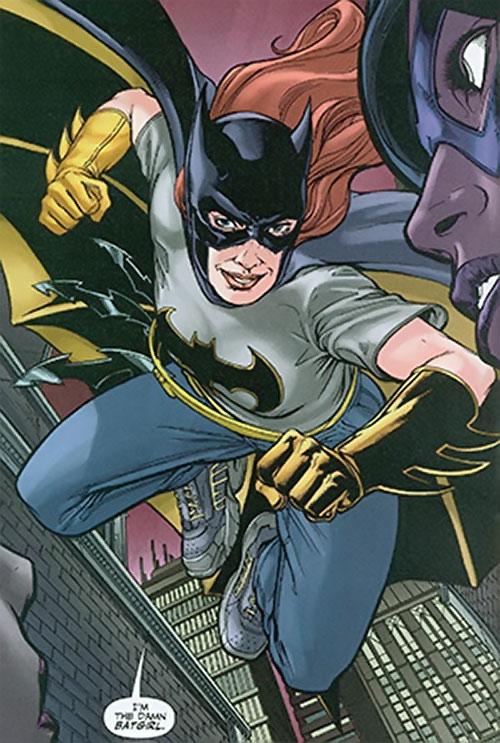 Misfit of the Birds of Prey (DC Comics) as the Damn Batgirl