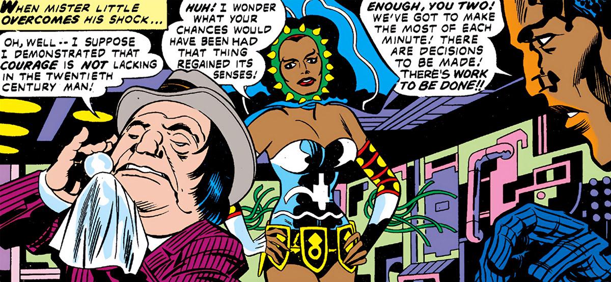 Mister Abner Little - Marvel Comics - Jack Kirby Black Panther - With Princess Zanda