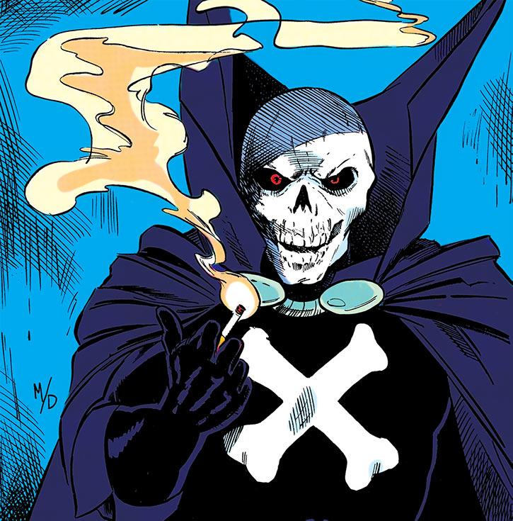 Mister Bones portrait