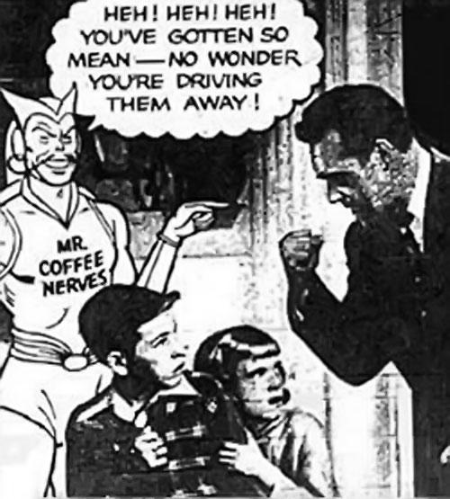 Mister Coffee Nerves (vintage Postum adverts)