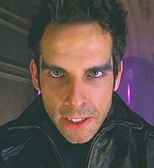 Mister Furious (Ben Stiller in Mystery Men) face closeup