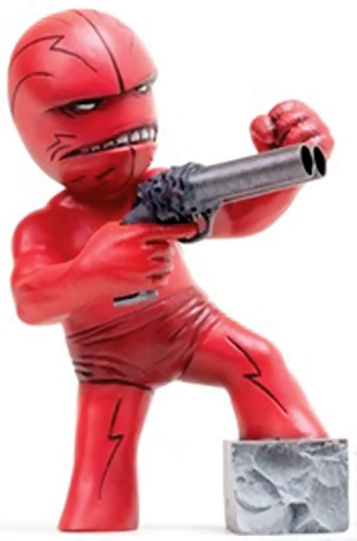 Mister Glum (Savage Dragon enemy) (Image Comics) figurine with the God Gun