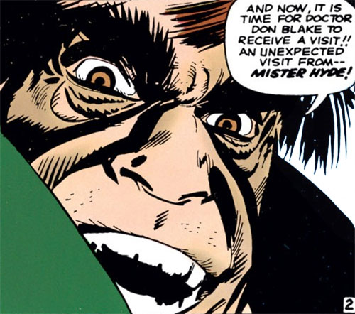Mister Hyde (Marvel Comics) gloating