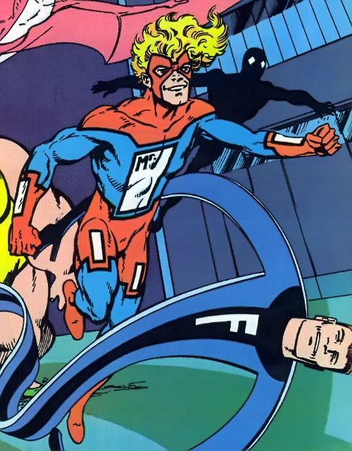 Mister Immortal of the Great Lakes Avengers (Marvel Comics) and his early team