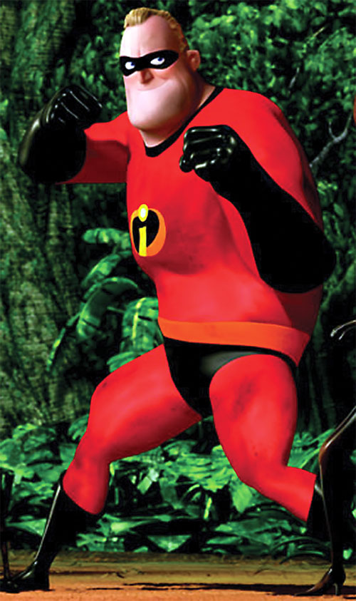 Mister Incredible (Pixar's The Incredibles) ready for action
