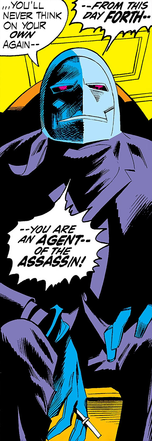 Mister Kline the Assassin (Marvel Comics) revealed