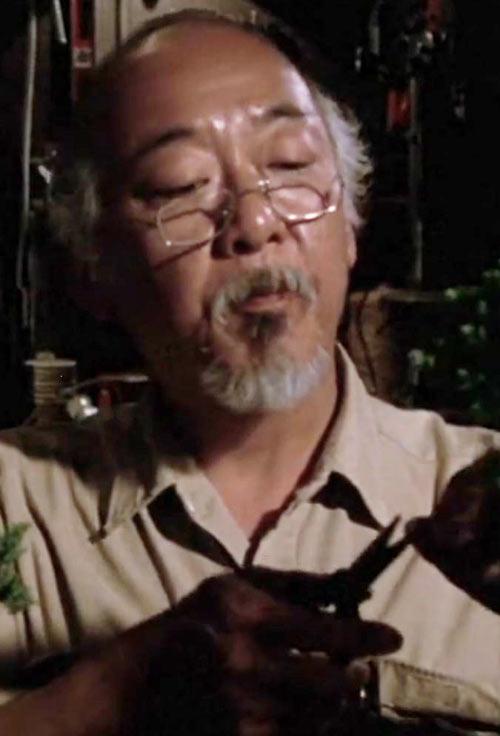 Mister Miyagi - Pat Morita in Karate Kid