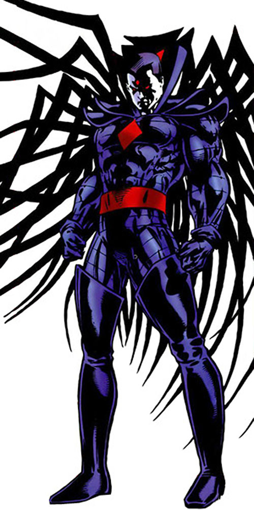 Mister Sinister (X-Men enemy) (Marvel Comics) with shadowed face