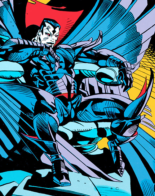 Mister Sinister (X-Men enemy) (Marvel Comics) sitting on a throne